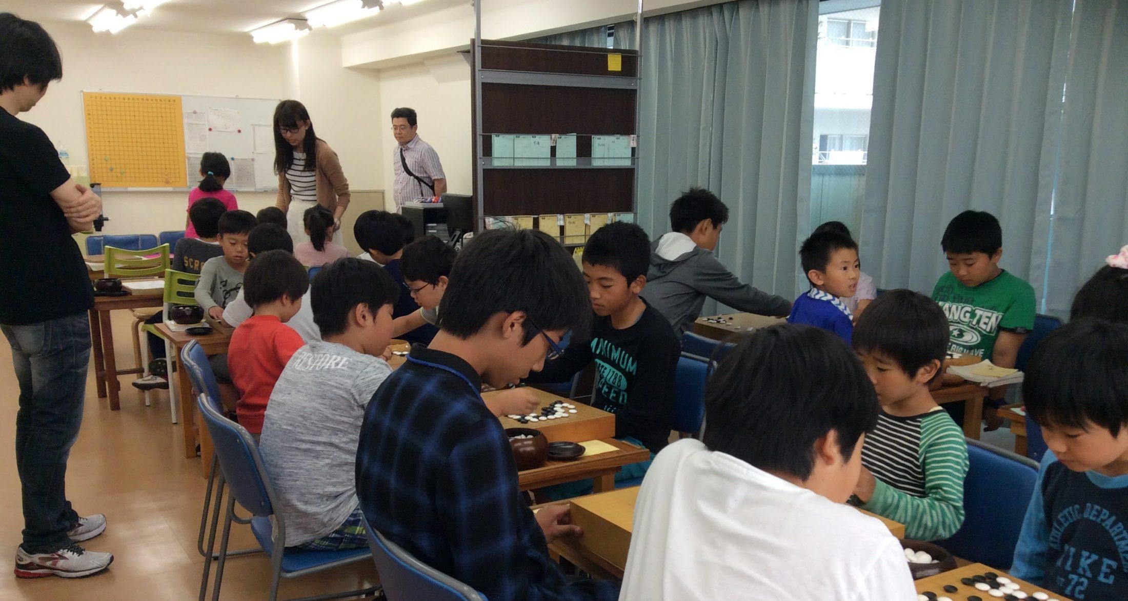 学園 ネット 囲碁